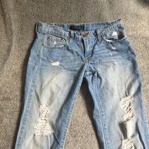 Levi's Boyfriend Ripped Jeans